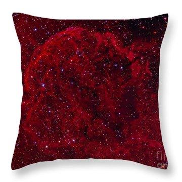 The Jellyfish Nebula Throw Pillow