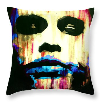 The Joker Why So Serious Throw Pillow by Brad Jensen