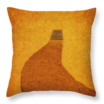 The Journey Throw Pillow by Carol F Austin