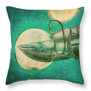 The Journey Throw Pillow by Eric Fan