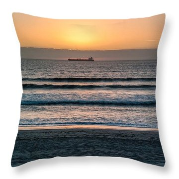 The Journey Is Over. I Am Home Throw Pillow