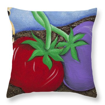 The Journey South Throw Pillow