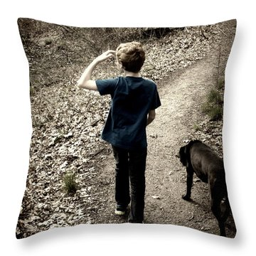 The Journey Together Throw Pillow by Bruce Carpenter