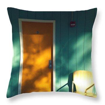 The Joy Motel Throw Pillow