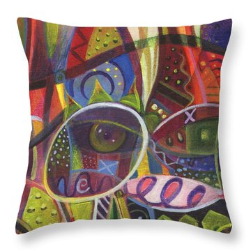 The Joy Of Design X Throw Pillow