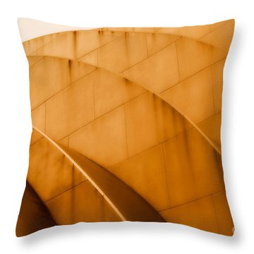 The K Throw Pillow