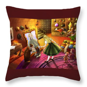 The Kakuna Haberdashery Throw Pillow