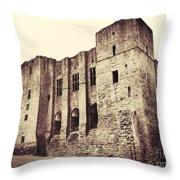 The Keep Throw Pillow