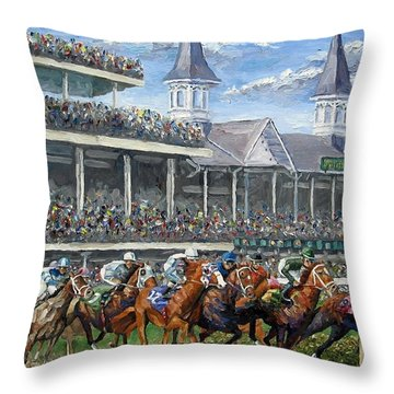 Kentucky Throw Pillows