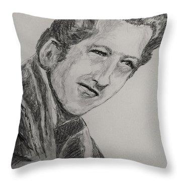 The Killer-2 Throw Pillow by Barry Jones