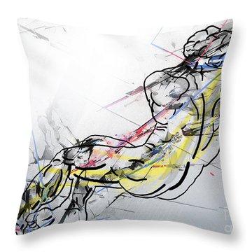 The King David  Throw Pillow
