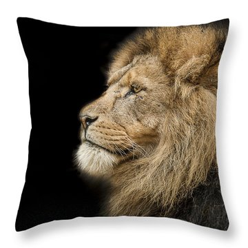 The King Is Dead Long Live The King Throw Pillow