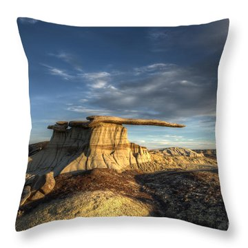 The King Of Wings Throw Pillow by Bob Christopher
