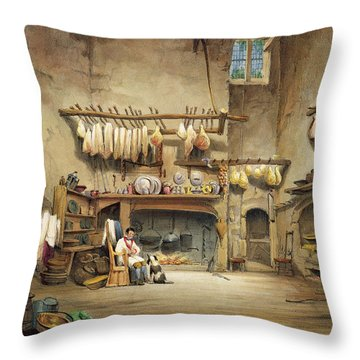 Pantries Throw Pillows