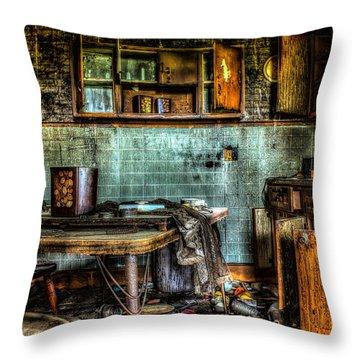 The Kitchen Throw Pillow