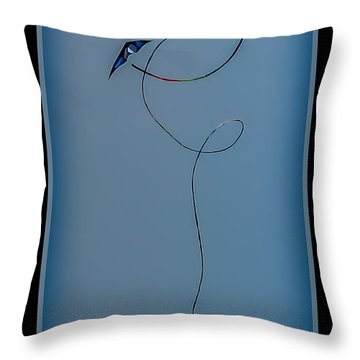 The Kite Throw Pillow