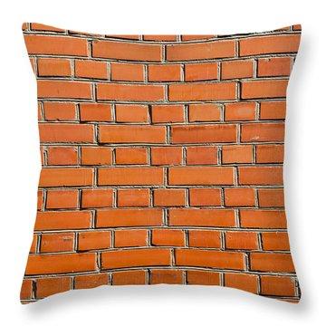 The Kremlin Wall - Featured 2 Throw Pillow by Alexander Senin