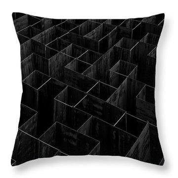 Labyrinth Throw Pillows