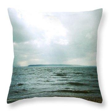 The Lake Throw Pillow