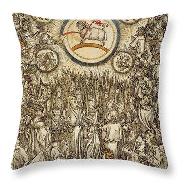 Agnus Throw Pillows