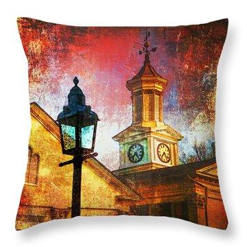 The Lamp Throw Pillow