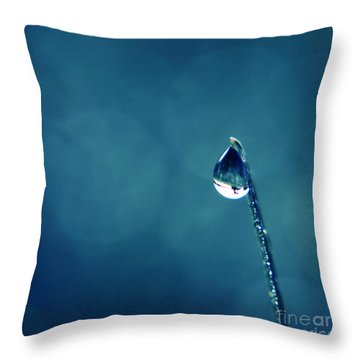 The Lamp Post Throw Pillow by Aimelle