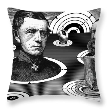 The Land Of Fixed Targets Throw Pillow