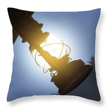 The Lantern Throw Pillow by Mike McGlothlen
