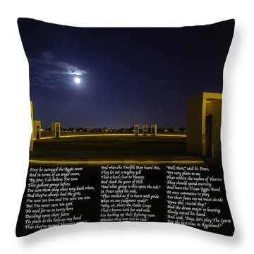 The Last Corps Trip Throw Pillow