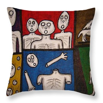 The Last Hollow Men Throw Pillow