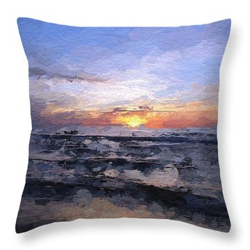 The Last Light Throw Pillow