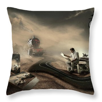 Clock Throw Pillows