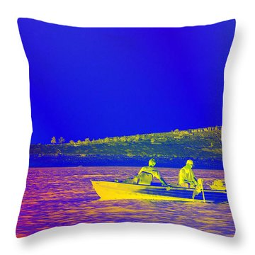 Throw Pillow featuring the photograph The Lazy Sunday Afternoon by David Pantuso