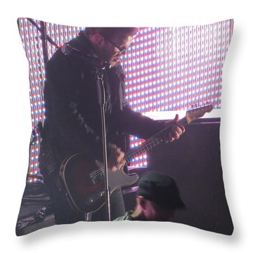 The Leadsinger Of Newsong Throw Pillow