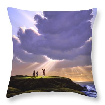 The Legend Of Bagger Vance Throw Pillow