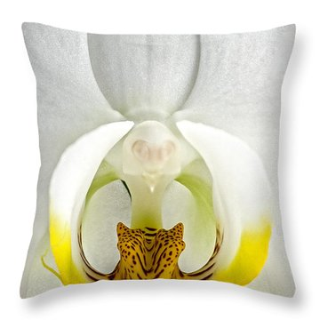 The Leopard King Throw Pillow