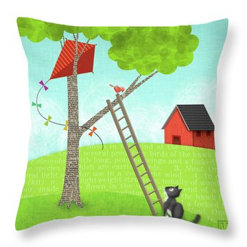 The Letter K Throw Pillow