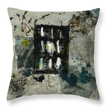 The Letter Throw Pillow by Lesley Fletcher