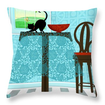 The Letter T Throw Pillow