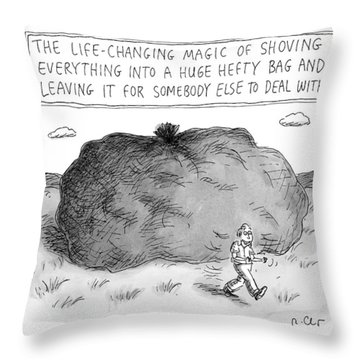 The Life-changing Magic Of Shoving Everything Throw Pillow