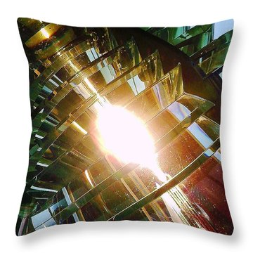 Throw Pillow featuring the photograph The Light by Daniel Thompson
