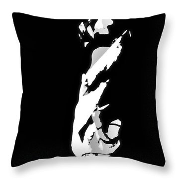Throw Pillow featuring the photograph The Light by EDi by Darlene