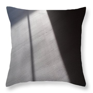 Throw Pillow featuring the photograph The Light From Above by Steven Huszar