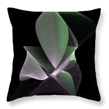 Throw Pillow featuring the digital art The Light Inside by Gabiw Art