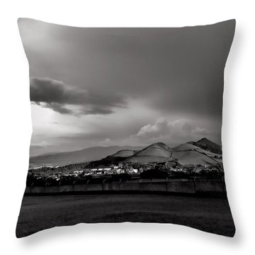 The Light Of Heaven Throw Pillow