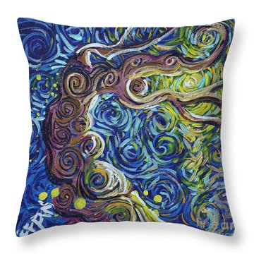 The Light Of Love Is All Throw Pillow