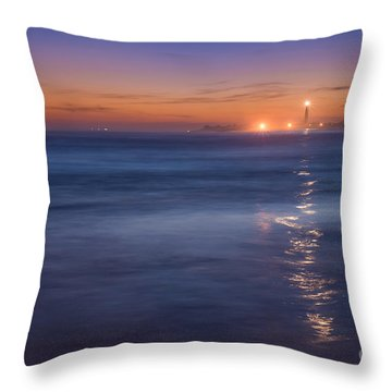 The Light Will Guide You Throw Pillow