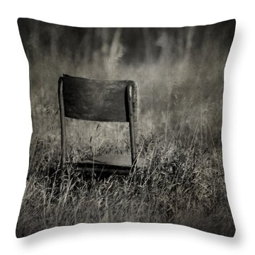 The Listening Wind  Throw Pillow