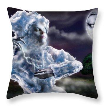 The Little Cloud Throw Pillow