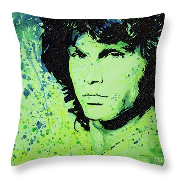 The Lizard King Throw Pillow